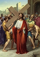 Station 2 Jesus takes up his cross